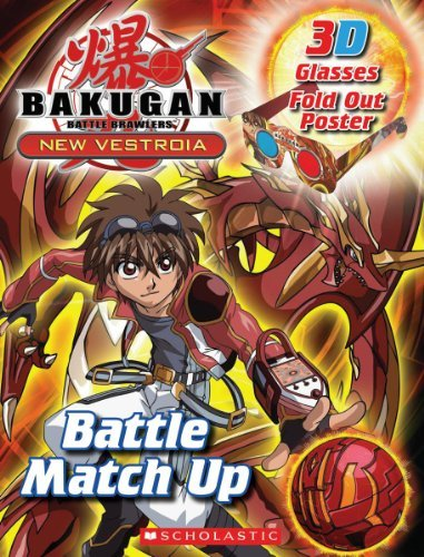 Tracey West Bakugan 3 D Book