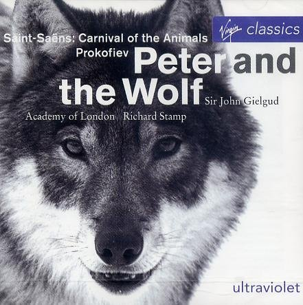 Gielgud Stamp Prokofiev Peter & The Wolf