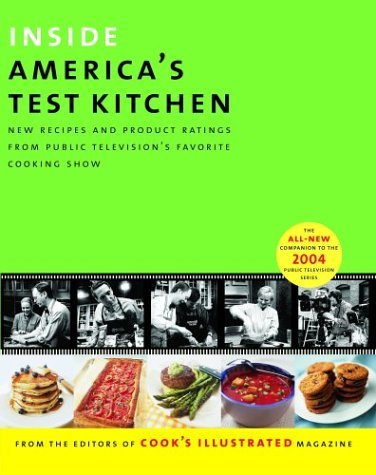 Cook's Illustrated Magazine Inside America's Test Kitchen All New Recipes Tips Equipment Ratings Food Ta