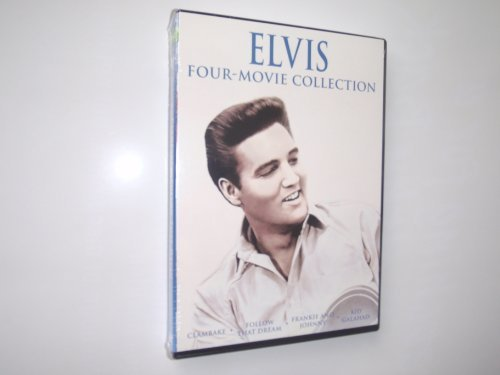 Elvis Four Movie Collection Clambake Follow That Dream Frankie & Jonny Kid Gal
