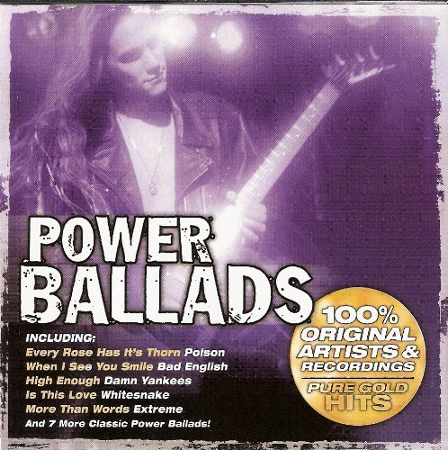 Various Power Ballads Pure Gold Hits 100% Original Artis