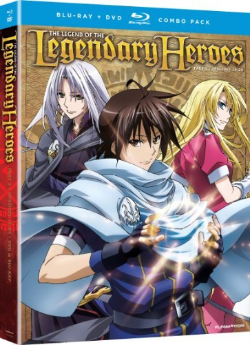 Legend Of The Legendary Heroes Pt. 2 Ws Blu Ray Tv14 2 Br 2 DVD