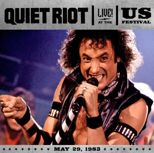 Quiet Riot Live At The Us Festival 1983 Incl. DVD