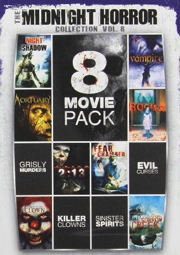 Midnight Horror Collection Vol. 8 8 Movie Pack Nr 2 DVD
