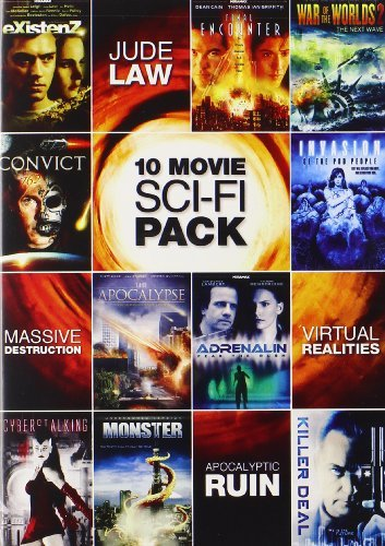 10 Movie Sci Fi Pack 10 Movie Sci Fi Pack Nr 2 DVD