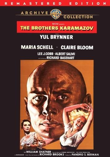 Brothers Karamazov (remastered Brynner Schell Bloom DVD R Nr