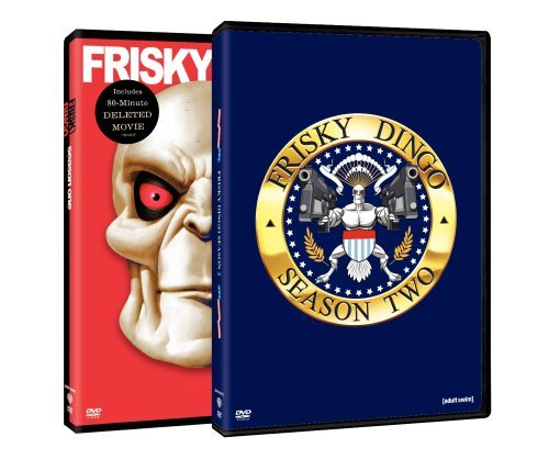 Frisky Dingo Seasons 1 2 DVD