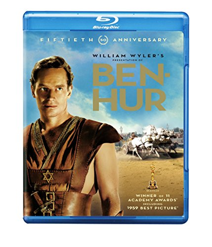 Ben Hur Heston Griffith Hawkins Blu Ray G 50th Anniversary Edition