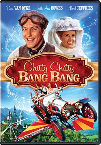 Chitty Chitty Bang Bang Van Dyke Howes Jeffries DVD G Ws