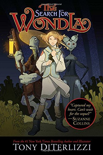 Tony Diterlizzi The Search For Wondla Book 1 Reprint