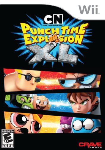 Wii Cartoon Network Punch Time Explosion