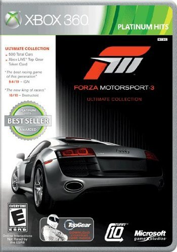 Xbox 360 Forza 3 Ultimate Collection Microsoft Corporation E
