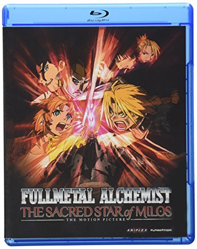 Sacred Star Of Milos Fma Brotherhood Blu Ray Ws Tv14 Incl. DVD