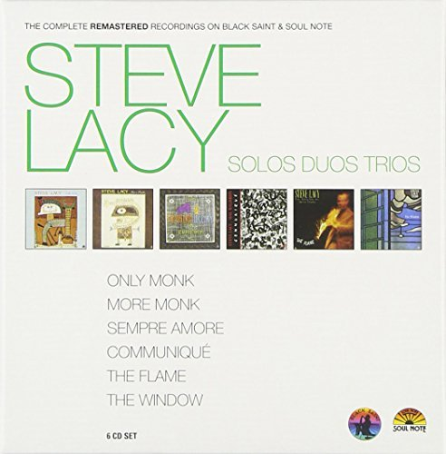 Steve Lacy Complete Remastered Recordings 6 CD
