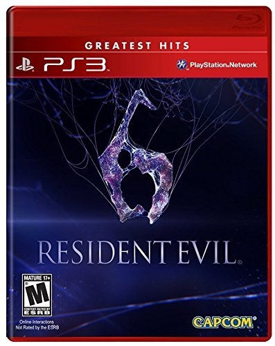 Ps3 Resident Evil 6 (m) Capcom U.S.A. Inc. M
