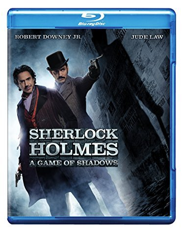 Sherlock Holmes A Game Of Shadows Downey Law Rapace Blu Ray Ws Pg13 Incl. DVD Uv