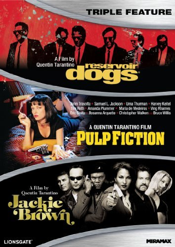 Reservoir Dogs Pulp Fiction Jackie Brown Tarantino Quentin Ws R 3 DVD