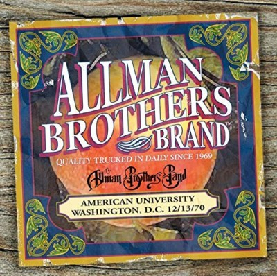 Allman Brothers Band American University 12 13 70