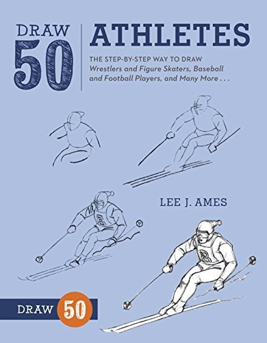 Lee J. Ames Draw 50 Athletes The Step By Step Way To Draw Wrestlers And Figure