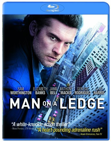 Man On A Ledge Warthington Banks Harris Blu Ray Ws Pg13