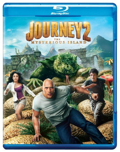 Journey 2 The Mysterious Isla Johnson Caine Hutcherson Blu Ray Ws Pg Incl. DVD Uv