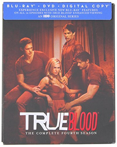 True Blood Season 4 Blu Ray DVD Dc Nr Ws