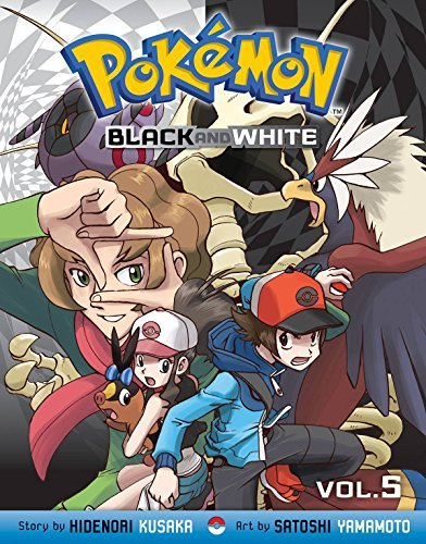 Hidenori Kusaka Pokemon Black And White Vol. 5 Original