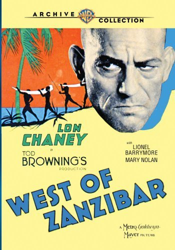 West Of Zanzibar (1929) Chaney Barrymore Nolan DVD Mod This Item Is Made On Demand Could Take 2 3 Weeks For Delivery