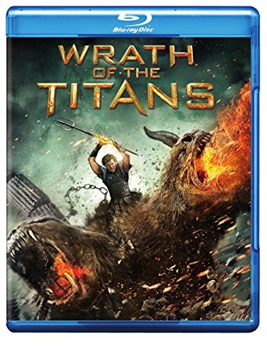 Wrath Of The Titans Worthington Neeson Fiennes Hus Blu Ray Ws Pg13 Incl. DVD Dc Uv