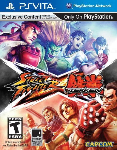 Playstation Vita Street Fighter X Tekken