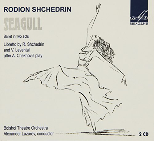 R. Shchedrin Seagull Ballet In Two Acts Double Digipak
