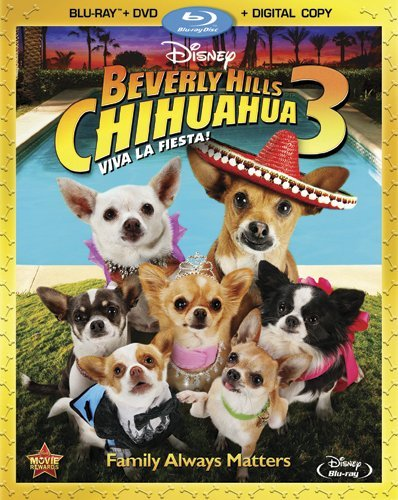 Beverly Hills Chihuahua 3 Lopez Coloma Cahill Blu Ray Ws G Incl. DVD Dc