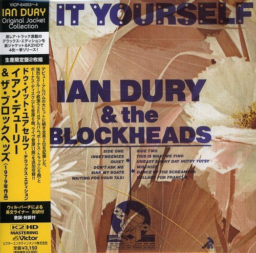 Ian Dury Do It Yourself (mini Lp Sleeve Import Jpn Paper Sleeve 2 CD