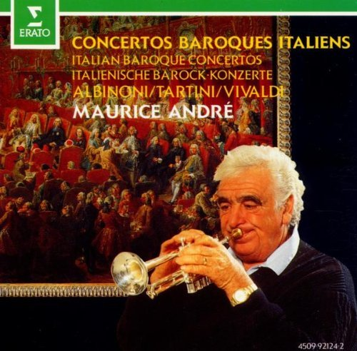 Maurice Andre Italian Baroque Concertos Andre (tpt) Various