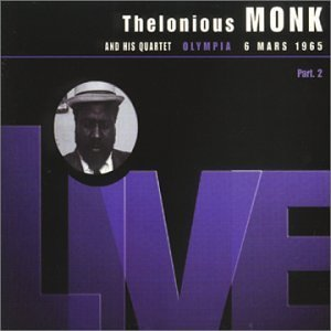 Monk Thelonious Vol. 2 Live At The Olympia 3 6 Import Fra