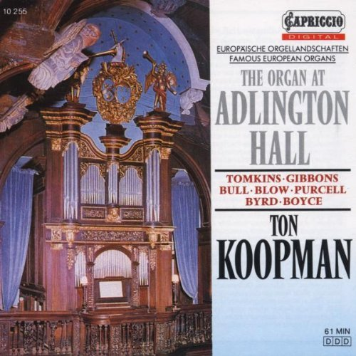 Ton Koopman Organ At Adlington Hall Koopman (org)