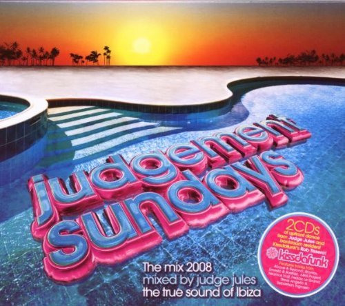 Judge Jules Judgement Sundays Mix 2008 2 CD Set