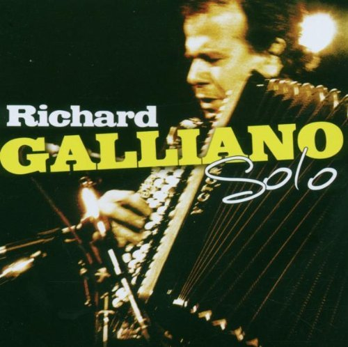 Richard Galliano Solo Live In Italy Import Eu