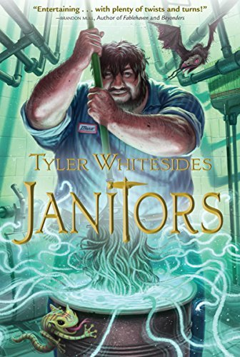 Tyler Whitesides Janitors Book 01