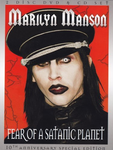 Marilyn Manson Fear Of A Satanic Planet (spec Ao Incl. CD