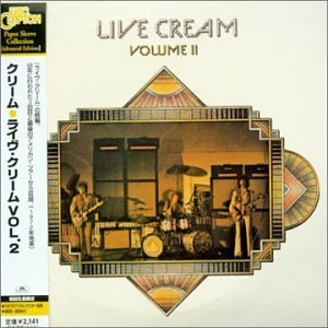 Cream Vol. 2 Live (mini Lp Sleeve) Import Jpn Paper Sleeve