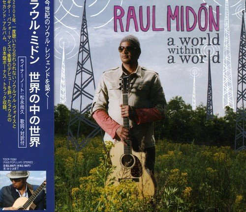 Raul Midon World Within A World Import Jpn Incl. Bonus Track