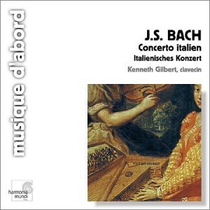 J.S. Bach Con Italian French Ov Gilbert*kenneth (hpd)