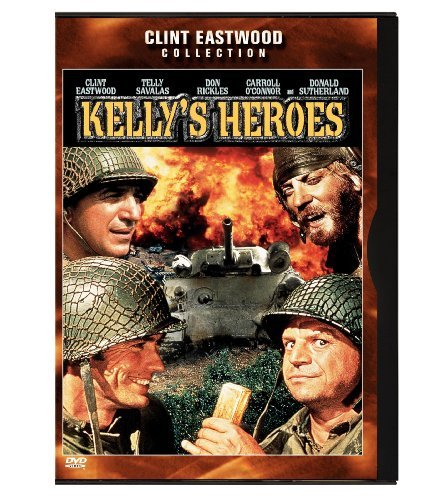 Kelly's Heroes Eastwood Sutherland Savalas Ma Clr Cc Snap Pg Eastwood Coll