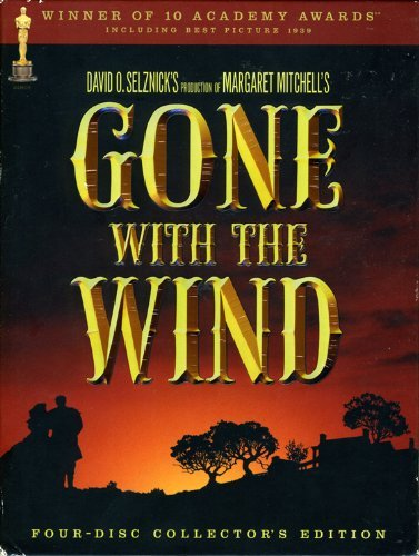 Gone With The Wind Leigh Gable Bw Digipak Nr 4dvd Coll Ed