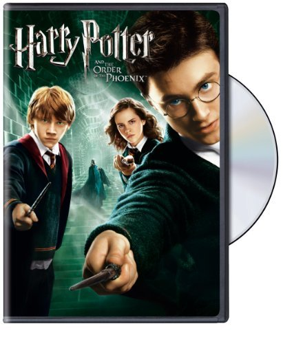 Harry Potter & The Order Of The Phoenix Radcliffe Watson Grint DVD Pg13 Ws