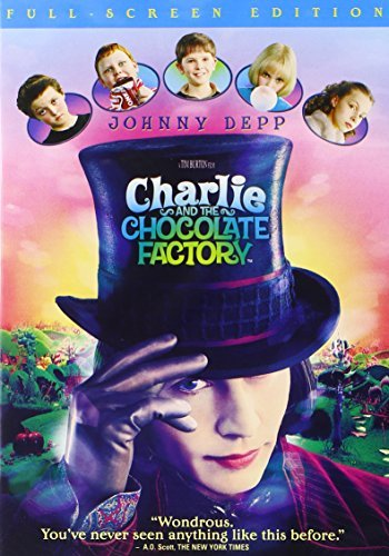 Charlie & The Chocolate Factory Depp Carter Highmore DVD Nr
