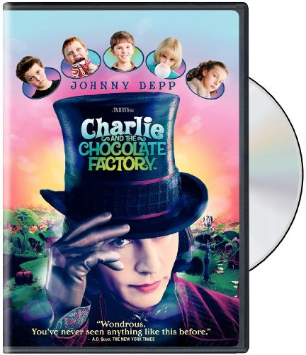 Charlie & The Chocolate Factory Depp Carter Highmore DVD Nr Ws