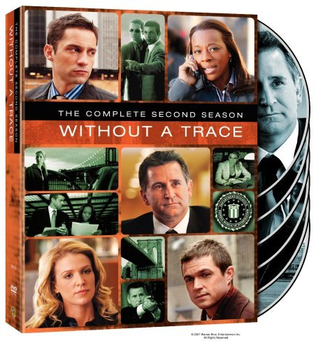 Without A Trace Season 2 DVD