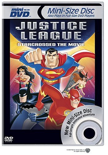 Justice League Star Crossed Clr Mini DVD Nr
